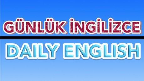 Günlük İngilizce